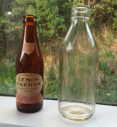 L&P bottle WCC Milk Depot bottle