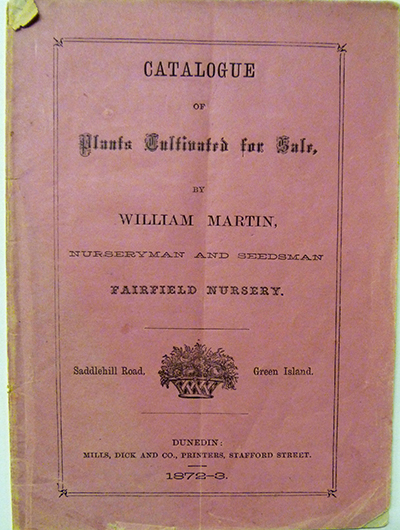 1872 cover Martin catalogue