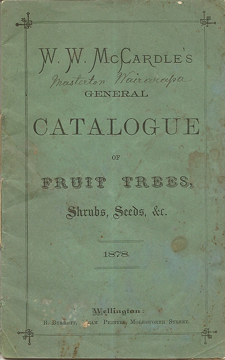 1878 McCardle Catalogue