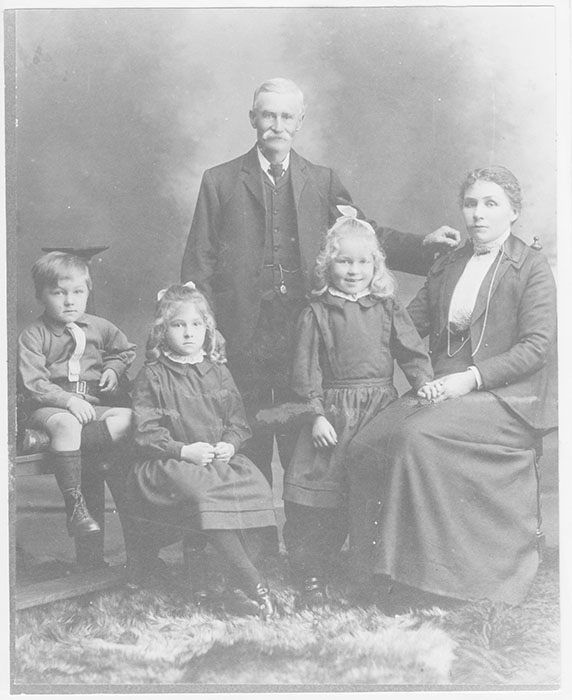 Stebbings family 1913