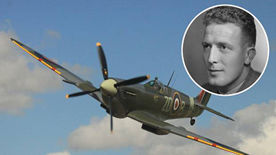 Graphic compilation of Spitfire and Horace Trenchard