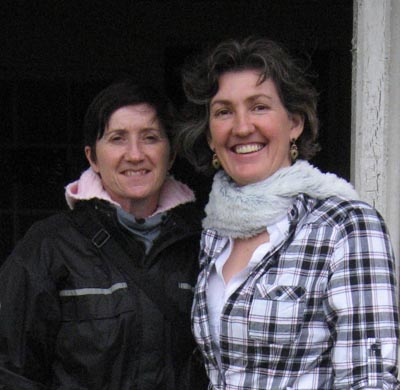 Ann McKain and Claire Bibby